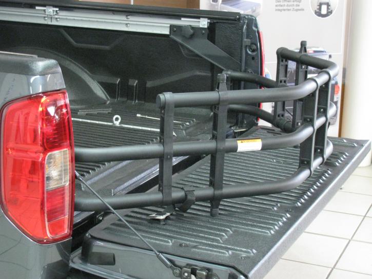 Bed Extender Nissan Navara D40 - für Verzurrsystem