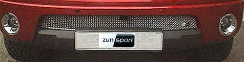 Grilleinsatz unten Nissan Navara 2005-2009 Edelstahl poliert