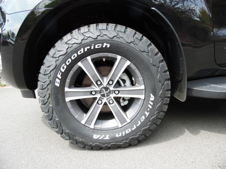 Auflastung zGG + HA Komplettset Ford Ranger ab 2012 Double Cab