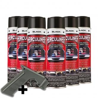 Herculiner Spray 6x440g Ladeflächenbeschichtung