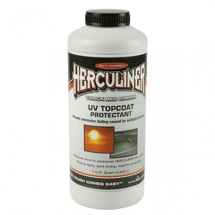 Herculiner Top Coat UV- Schutz f. schwarze Beschichtung
