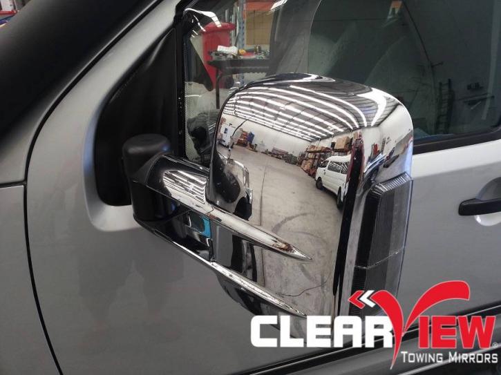 Clearview Aussenspiegel 1 Satz  Nissan Navara D40 / Chrom